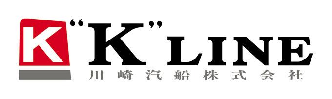 """川崎汽船(""""K""""LINE) ロゴ"""